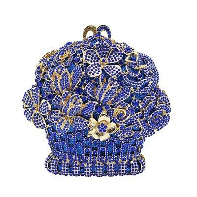 晚宴 包 鑲鑽手拿包-時尚奢華精美別緻女包包5色73su37[獨家進口][米蘭精品]