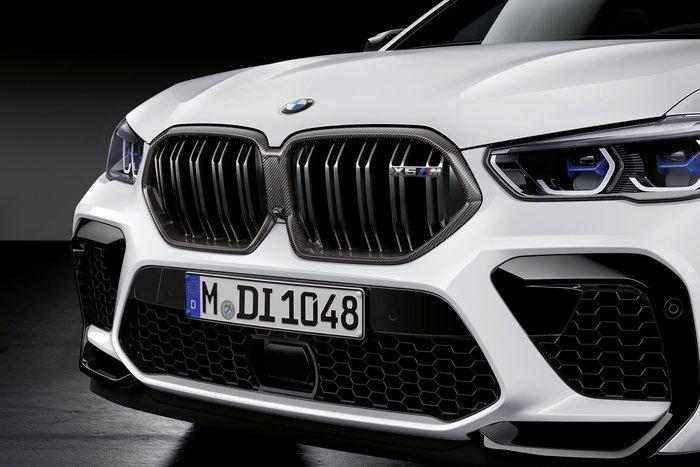 【樂駒】BMW X6M F96 M Performance 原廠 Carbon 碳纖維 水箱護罩 黑鼻頭 水箱罩