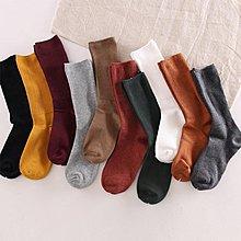 襪子女中筒襪可愛堆堆襪韓國學院風日系復古韓版襪子秋冬長襪 【潮玩街】