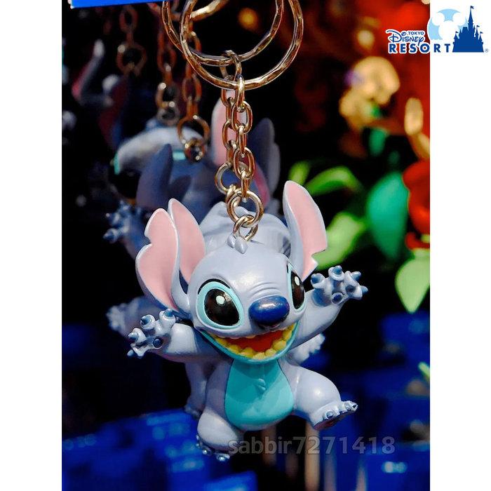 JP購✿樂園限定經典鎖圈 史迪奇 星際寶貝 日本東京迪士尼樂園 吊飾 掛飾 鑰匙圈 401350096291