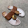 【全新正貨私家珍藏】TORY BURCH PATOS DISK SANDAL 新款 真皮平底夾腳拖鞋
