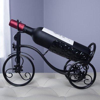 酒架歐式復古擺件葡萄酒架客廳裝飾創意家居酒柜擺設鐵藝展示架  XY1614