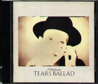 K - Toshiki Kadomatsu 角松敏生 - TEARS BALLAD - 日版