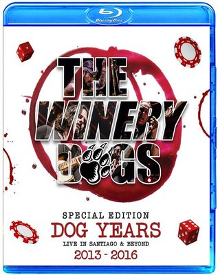 The Winery Dogs Live In Santiago & Beyond (藍光BD25G)@XI31227