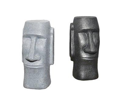 [現貨]摩艾石像造型存錢筒 復活節島神秘石像 零錢罐 公仔模型桌面擺設辦公室惡搞古怪收藏禮物