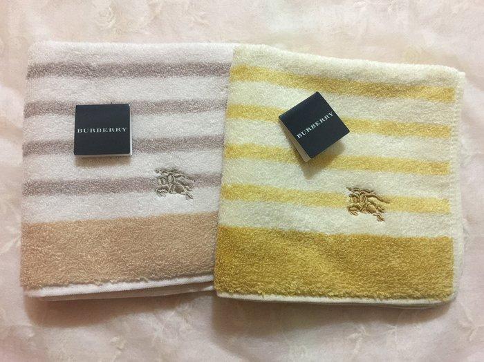 日本製 BURBERRY 戰馬 方巾 手帕 毛巾  現貨 【滿額免運】