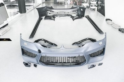 【台中政銓】BMW G30 改 F90 M5 全車大包 前保+側裙+後保+後下巴 原廠PP材質 現貨供應
