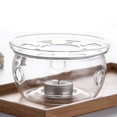 2059 居家館_圓型 花茶壺保溫底座~送蠟燭一個~水果茶玻璃加熱座 保溫盤 蠟燭保溫爐座 咖啡器具 咖啡壺