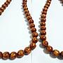 【九龍藝品】金海柳108顆念珠 ~ 珠子約12mm/重量約126公克【 1 】