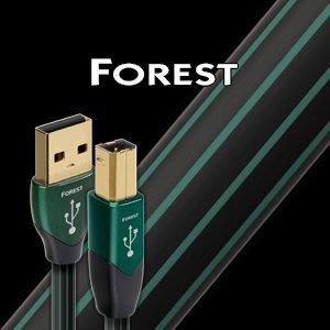 【音逸音響】USB 傳輸線》美國 audioquest Forest (1.5米)