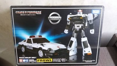 全新 Takara Transformers Masterpiece MP-17 Prowl Nissan 變形金剛 警車