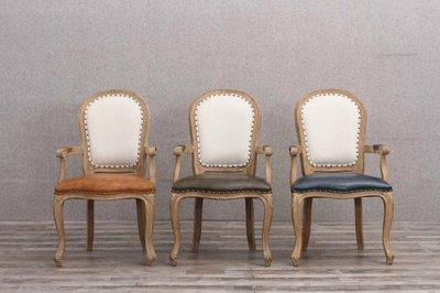 (台中 可愛小舖)簡約鄉村風素色多色彩色白色咖啡色墨綠色深藍色黃色淺藍色橘色藍色土黃色有扶手餐椅椅子靠背椅休閒椅餐廳飯店