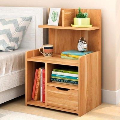 簡約現代床頭櫃多功能內收納櫃儲物簡易床邊小櫃子經濟型T