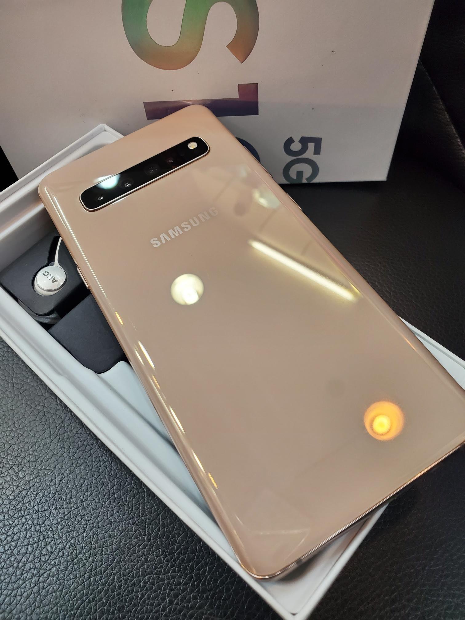 貳樓 西門町 三星 Galaxy S10 5G版 256G 送玻璃貼 空壓殼 國際版 二手福利 台灣未上市 盒裝完整