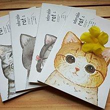 ♥ STORY SAYS ♥ 蘇鐵時光SOTI TIME原創設計 貓咪萌萌縫線筆記本 療癒 可愛 實用 禮物 貓