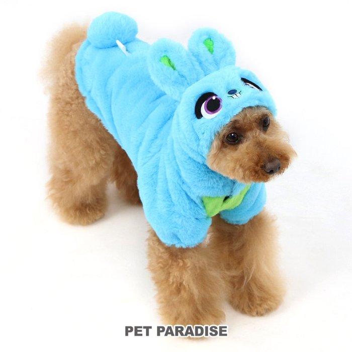 貝果貝果 日本 pet paradise 代理 DISNEY 反斗奇兵 藍色 賓尼兔 造型變身裝[D13168]