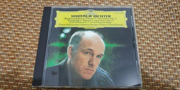 好音悅 半銀圈 Sviatoslav Richter 拉赫曼尼諾夫2號普羅高菲夫5號 鋼琴協奏曲 DG 德PMDC版