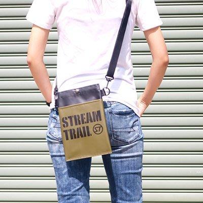 日本StreamTrail戶外防水包~Sucker mini 輕巧兩用包-可肩背或腰包-逛街上班行方便隨身小包~ 陸軍綠