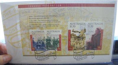 (全新) 2000年-澳洲-首日封-郵票