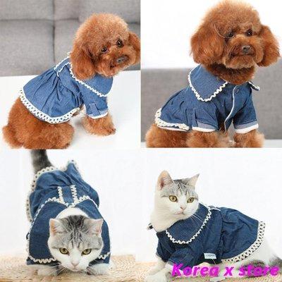 【K x S】寵物衣服 狗狗裙子小公主蓬蓬裙泰迪比熊貓咪寵物衣服秋冬裝棉衣小型犬衣服