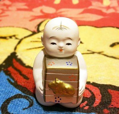 《廣寶閣》日本鄉土玩偶土鈴系列 2009年 京都府 御所人形  牛 土鈴