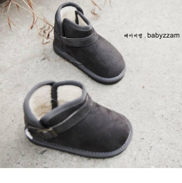 『※妳好,可愛※』 韓國童鞋 Babyzzam~經典英倫側扣環雪靴 靴子 兒童靴子兒童雪靴 (4色)