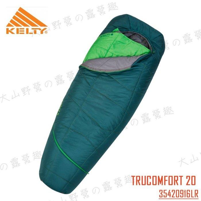 【福利品特價】KELTY 35420916LR TRUCOMFORT 20 DEG 加長型-7度保暖睡袋 纖維