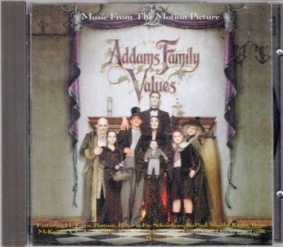 Addams Family Values 電影原聲帶