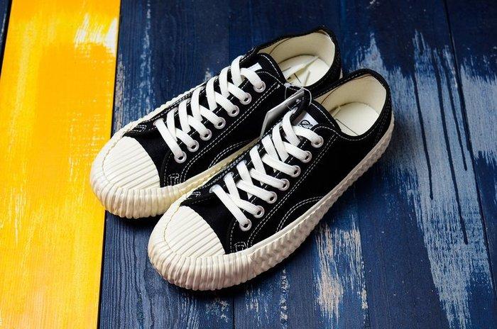Excelsior Bolt 餅乾鞋 黑白 低幫復古生膠 帆布鞋 男女休閒板鞋