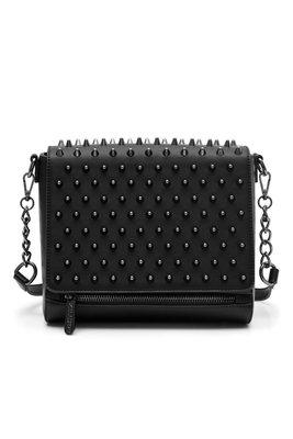 【丹】KS_Rhea Spiked Handbag 黑色 刺刺 點點 手拿包 肩背包 側背包