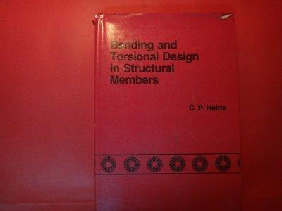 【愛悅二手書坊 05-17】Bonding and Torsional Design in Structural-
