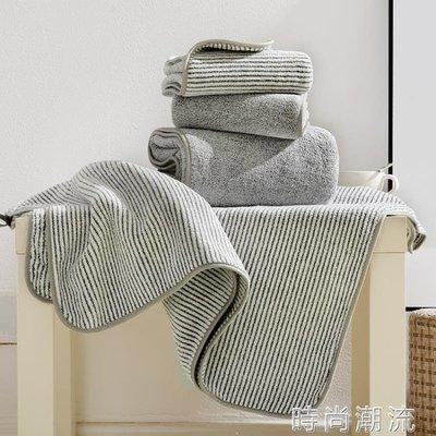 ZIHOPE 浴巾溫家樂竹炭纖維抗菌大人家用男女情侶日系超強吸水大毛巾套裝ZI812