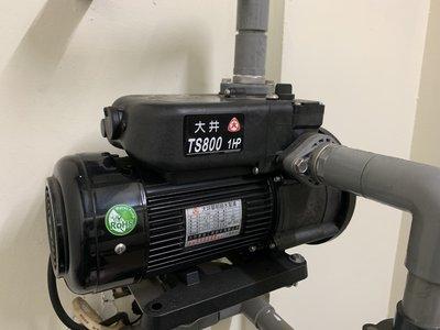 DIY水電材料 大井TS800B-1HP靜音抽水馬達/靜音不生鏽馬達/高效率馬達