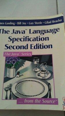 「品品二手書」The java specification second edition 昇陽出版社