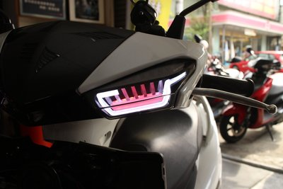 小嘉工作室 星爵 新勁戰四代 五期 六期 機器戰警 X-MEN 小燈 紅色 方向燈 燈組