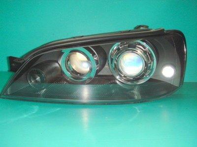 ☆小傑車燈家族☆全新手工酷炫版TIERRA LS RS XT SE黑框魚眼大燈(DEPO大廠製燈具)