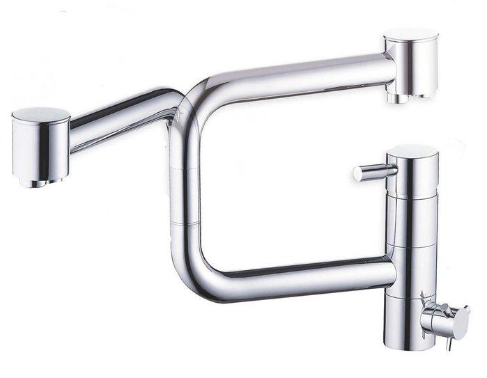 《101衛浴精品》台製 FALALI 法拉利 低鉛 RO三用 折疊式廚房龍頭 KD-052 日本陶瓷閥芯【免運費】