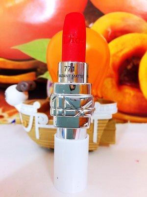 Dior 迪奧藍星絲絨霧感唇膏 #771 【全新百貨專櫃貨】☆