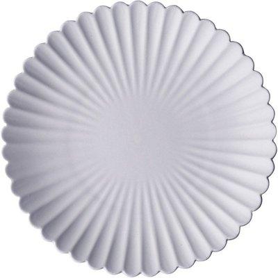 【凱洛詩家飾】日式 陶瓷盤 創意 磨砂菊盤 西餐 牛排盤 點心盤 水果沙拉小吃盤 20cm小盤