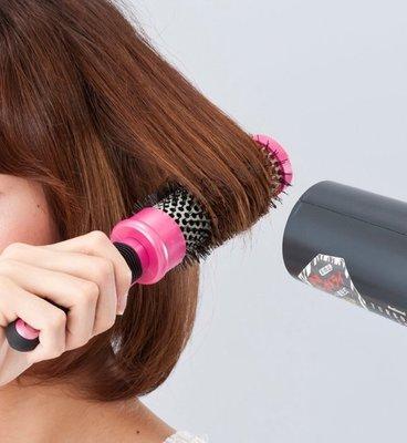 [霜兔小舖]日本代購 CLIP & CURL 夾子捲髮梳 內彎 整髮造型梳 S