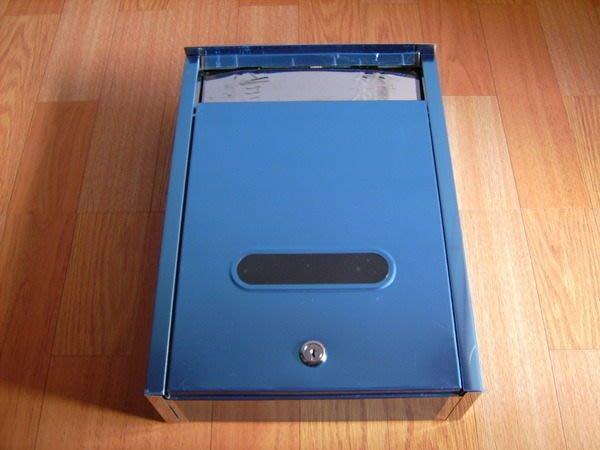 不鏽鋼信箱-家庭號(大)-另有古典信箱-豆花伯生活館