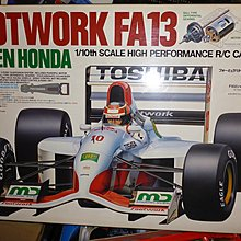 Vintage Tamiya 1/10 RC F1 Car - Footwork FA13