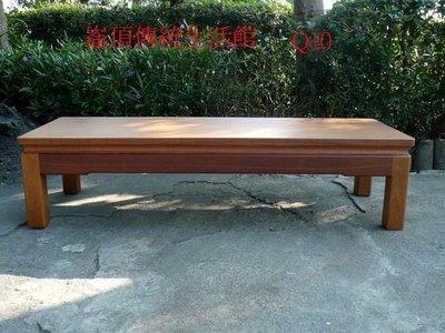 B005 {崙頂傳統原木家具行}~日式合式杉木小實木桌整塊面  接受訂作 訂色