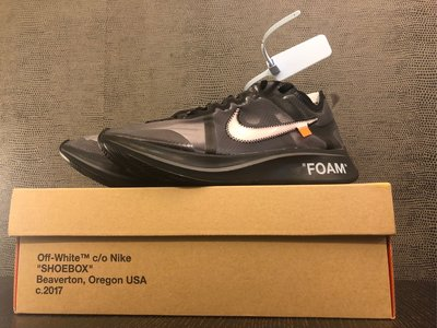 The 10 : NIKE ZOOM FLY off-white US9