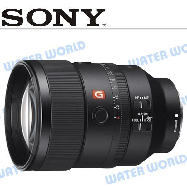 【中壢NOVA-水世界】SONY 135mm F1.8 GM 大光圈定焦鏡頭 全片幅相機 SEL135F18GM 公司貨