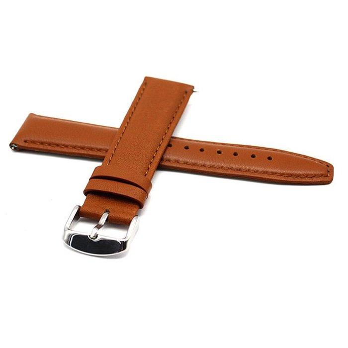 三星 Galaxy Watch Active 錶帶 真皮錶帶 替換腕帶 20MM 錶帶 商務型 時尚簡約