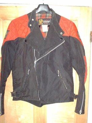 1980英國 Belstaff 騎士夾克 外套 langlitz leathers 菱格紋 cascade lewis