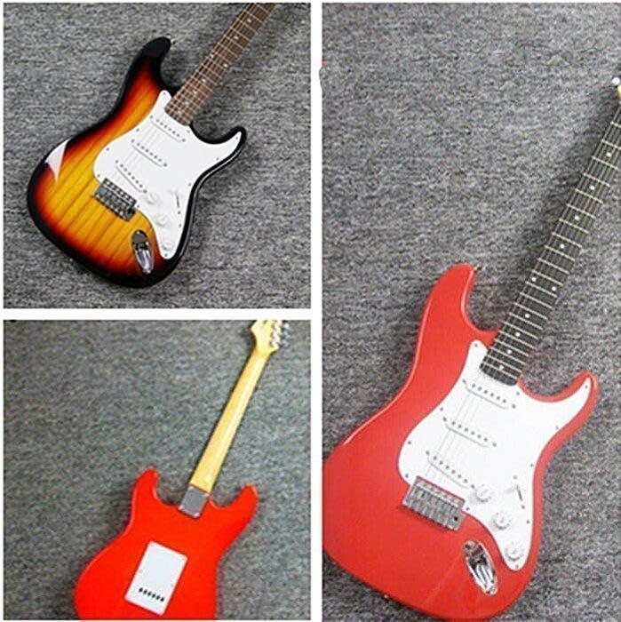【優上精品】懷念家駒 BEYOND紀念款經典ST電吉他 出售 0利潤 外貿電(Z-P3228)