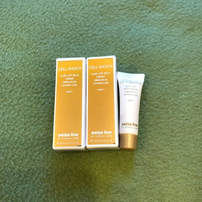 Swiss line cell shock luxe-lift rich cream 3g x 2支 (共6g)