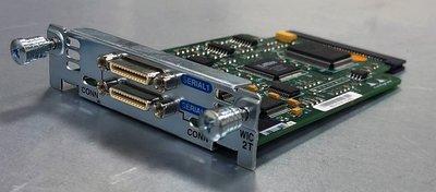 Cisco WIC-2T 模組 擴充介面卡